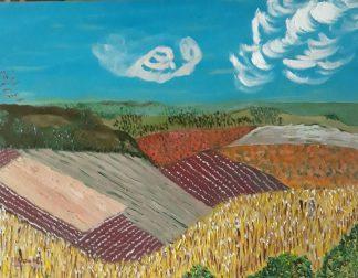 Campos de Castilla II - Óleo sobre lienzo