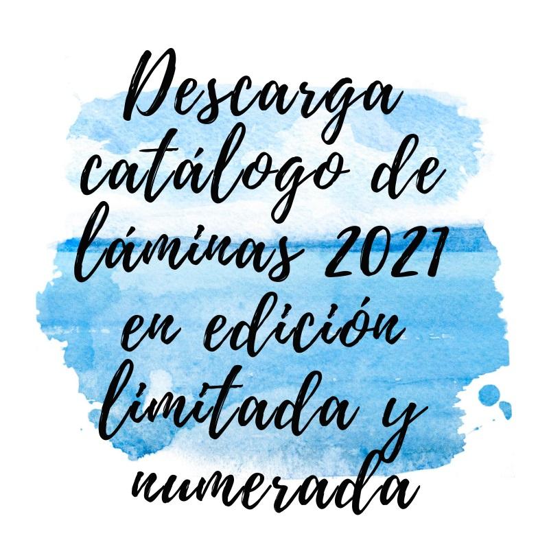 Catálogo de láminas 2021 en edición limitada y numerada