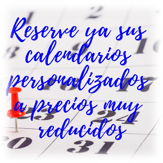 Calendarios personalizados a precios reducidos