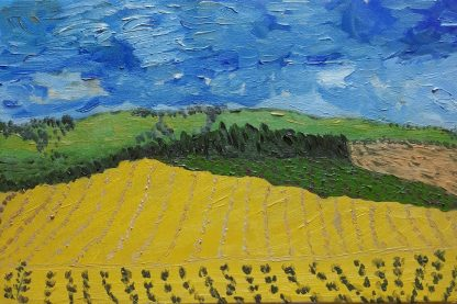 Campos de Castilla IX - Óleo sobre lienzo