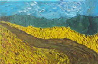 Campos de Castilla VIII - Óleo sobre lienzo