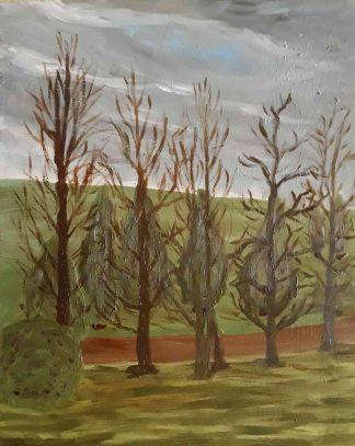 Invierno - Óleo sobre lienzo